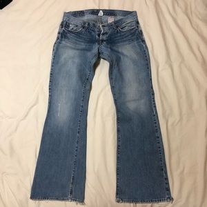 Lucky Brand - Lil Jeanie Low-rise Flare Jeans